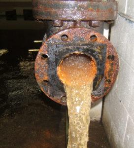 water meter replacement inline strainer water filter